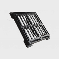 Flat gully grating with frame GP.C